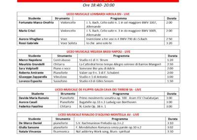 CALENDARIO ESIBIZIONI SETTIMANA MUSICA A SCUOLA 25 – 30 MAGGIO 2020_page-0006